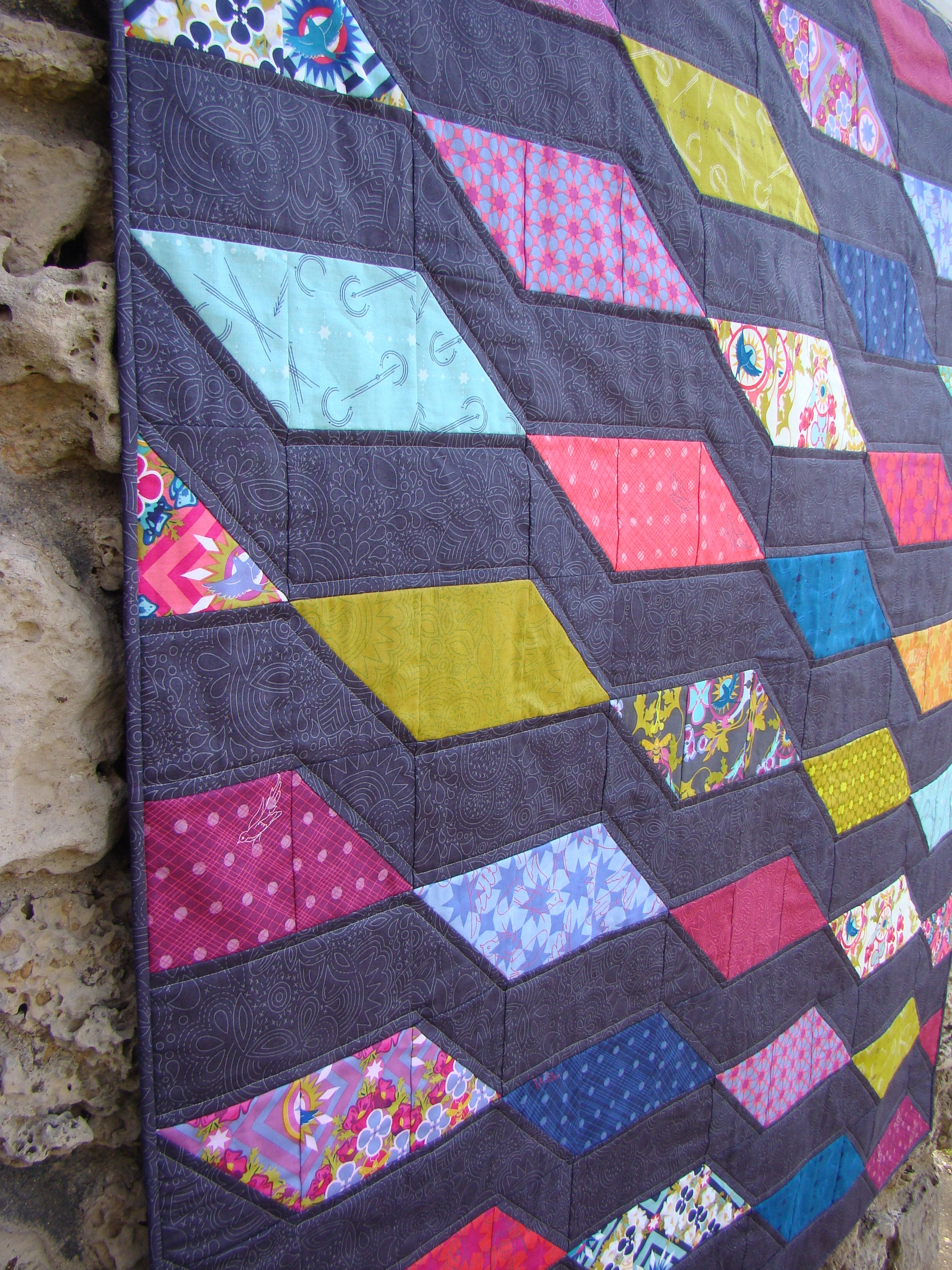 released quilt pattern today! R - sliceofpilife | ello