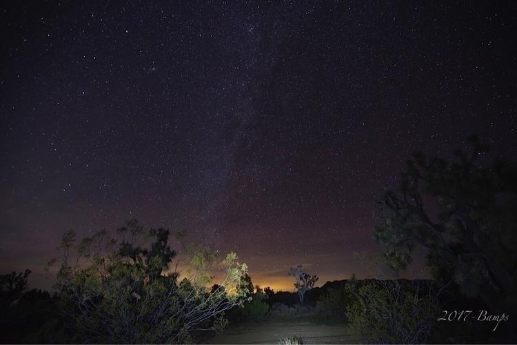 Una noche del desierto . night_ - bamps | ello
