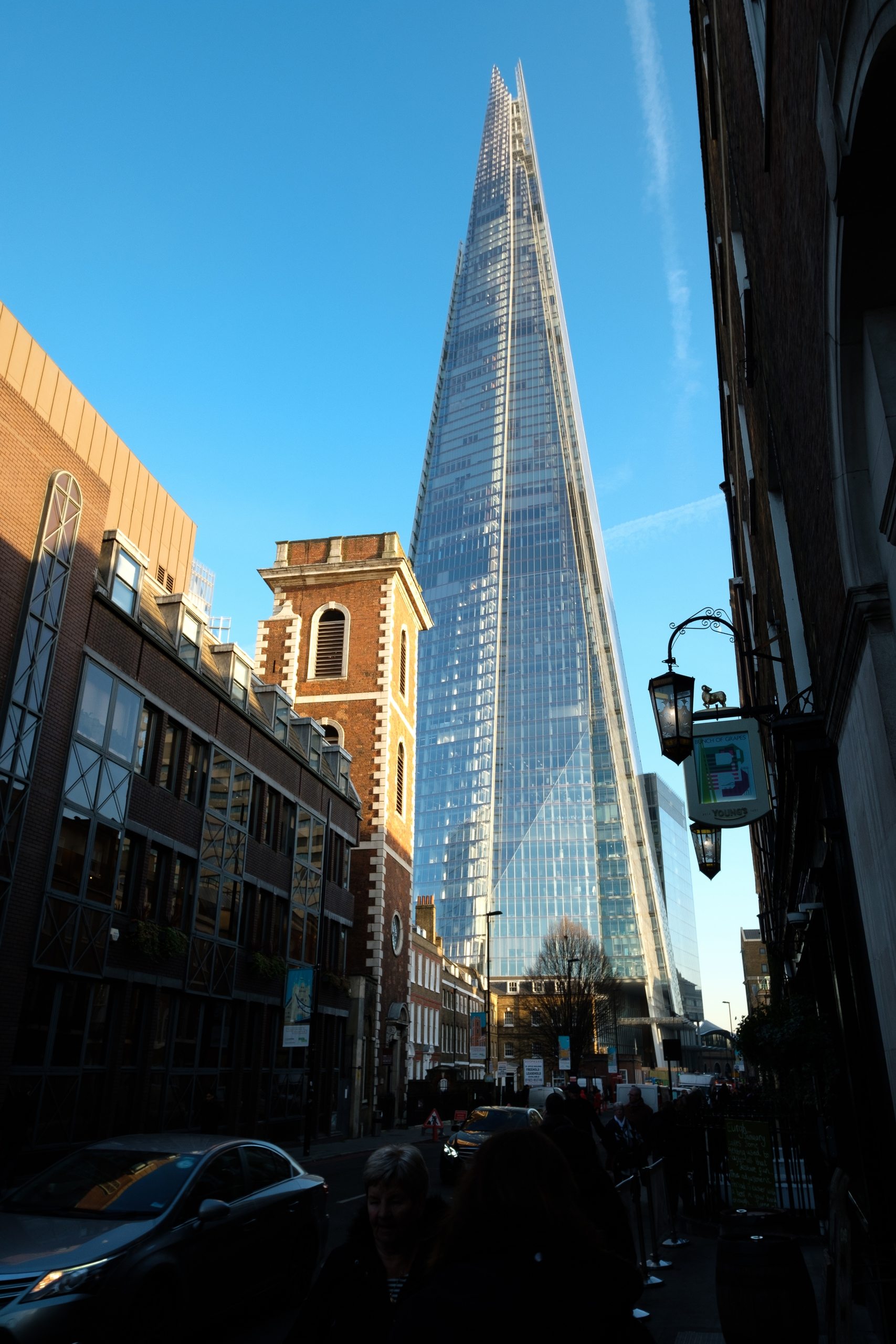 Shard. glass tower sky building - stephenwhite | ello