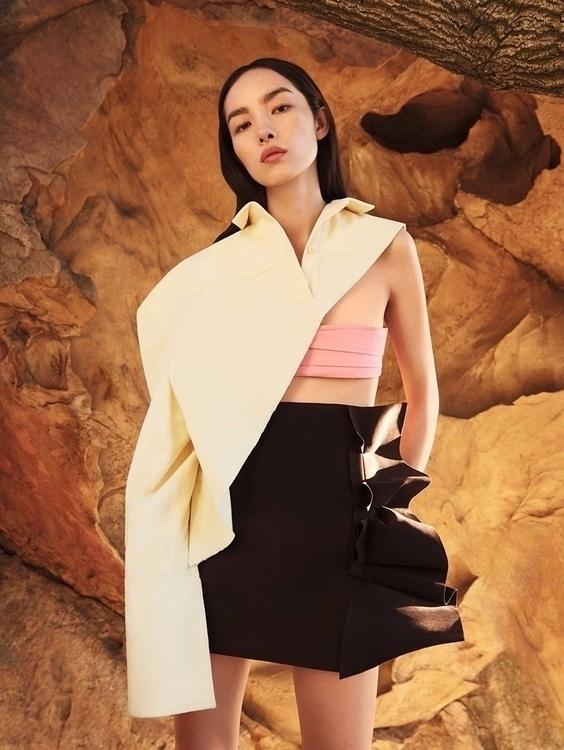 Fei Sun Vogue China December 20 - ellofashion | ello