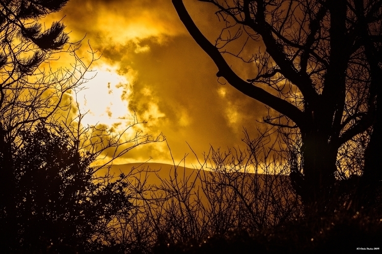 sky silhouette dual tone sun na - tecnonaut | ello