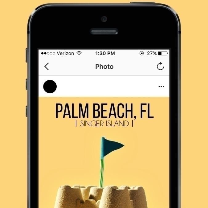 palm trees & 80 degrees des - jakesmelker   ello