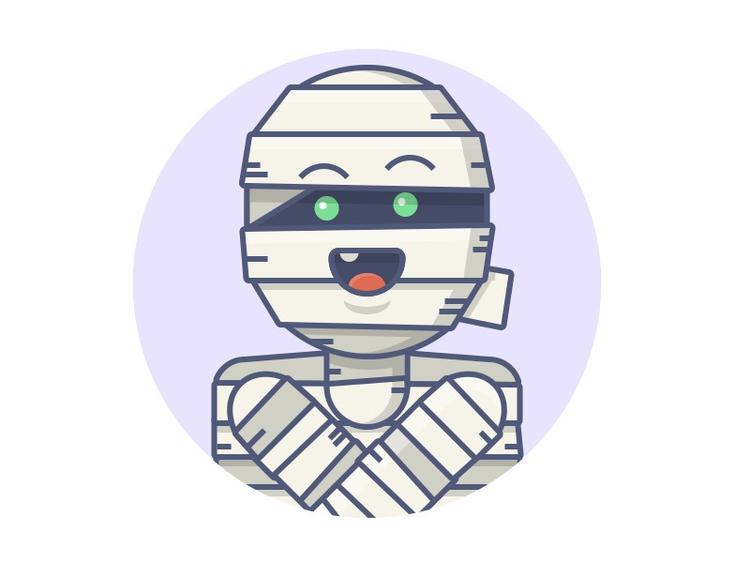 mummy? illustration design mons - mariojacome | ello