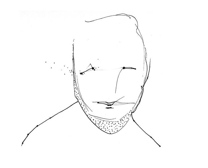 Face 003 - pen paper art drawin - benoit-vial | ello