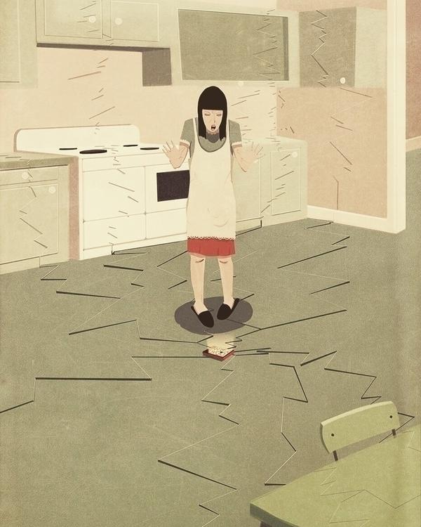 remains life phone falls illust - andreaucini | ello