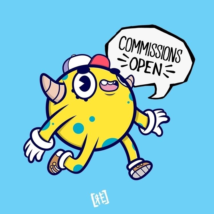 Hey guys! commissions! cool ill - redaelmraki | ello