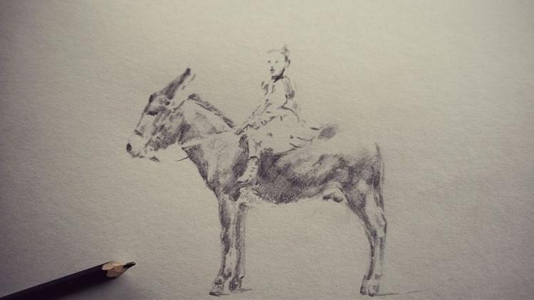 donkey doodle. - jahupo | ello