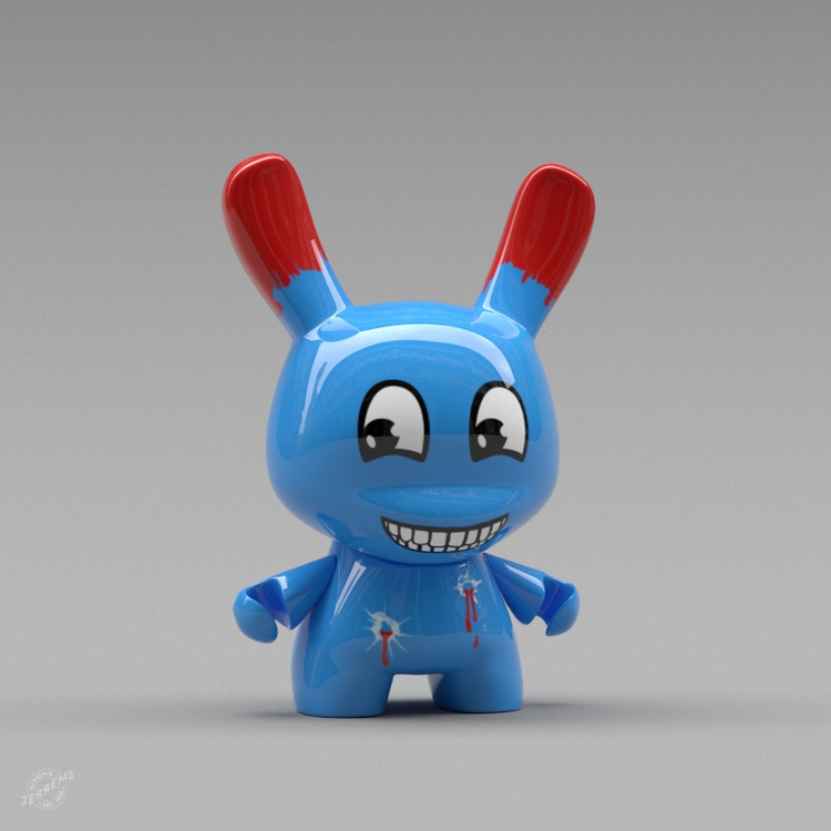 """Dunny"" kidrobot dunny toys col - bengaminjerrems | ello"