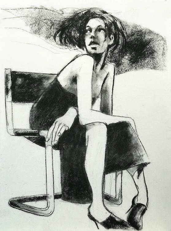 Charcoal drawing 56x76 cm - andreuccettiart | ello
