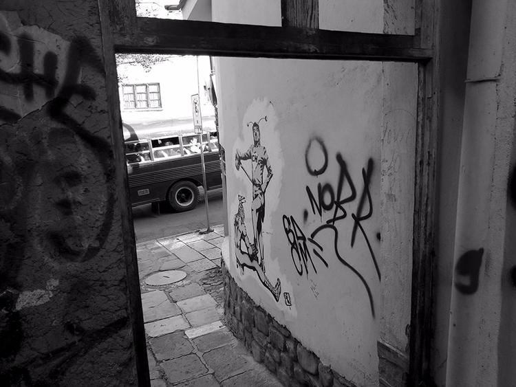 streetphotography blackandwhite - dolcka | ello