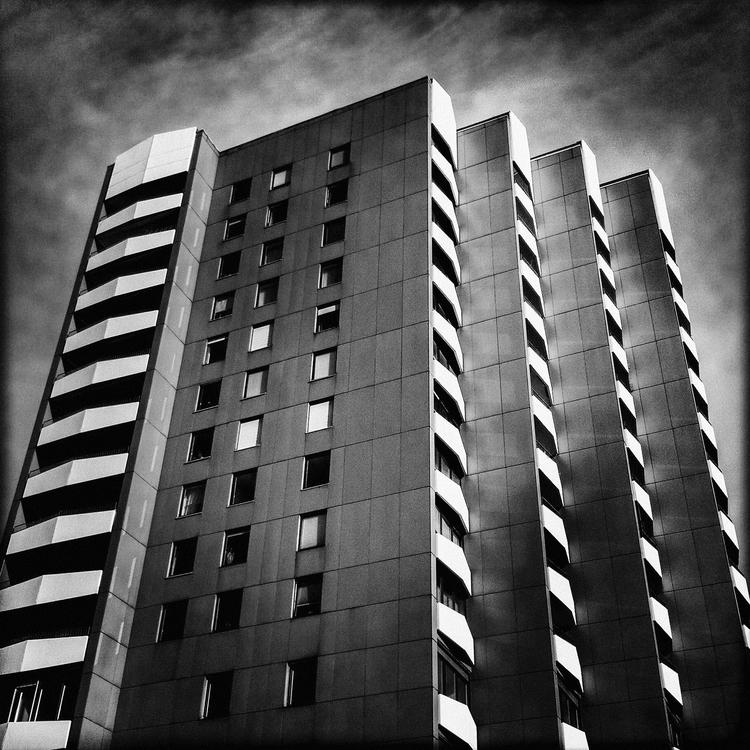 Architecture apartment building - thomasschaekelfotografie | ello