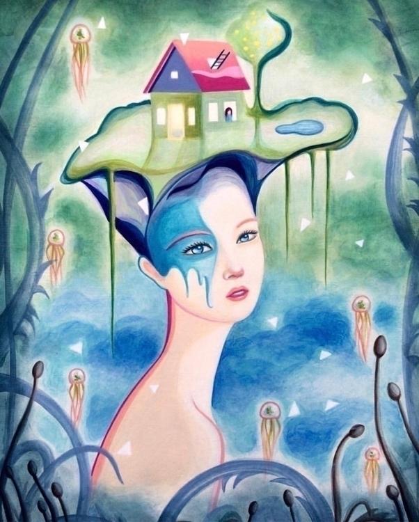 """Stories Home 2"" ~ acrylic wood - carolinaseth | ello"