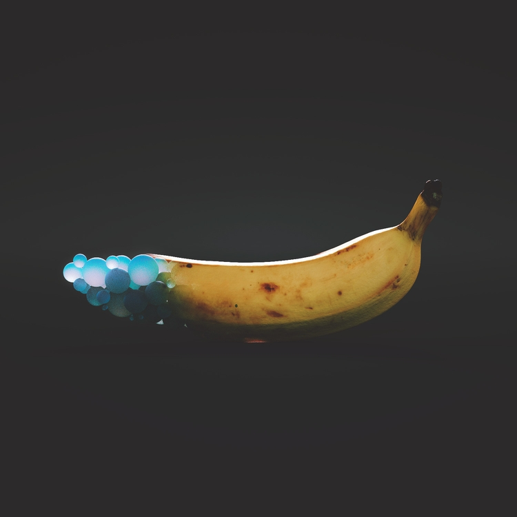3d cinema4d art 3dart banana su - themandesigns | ello