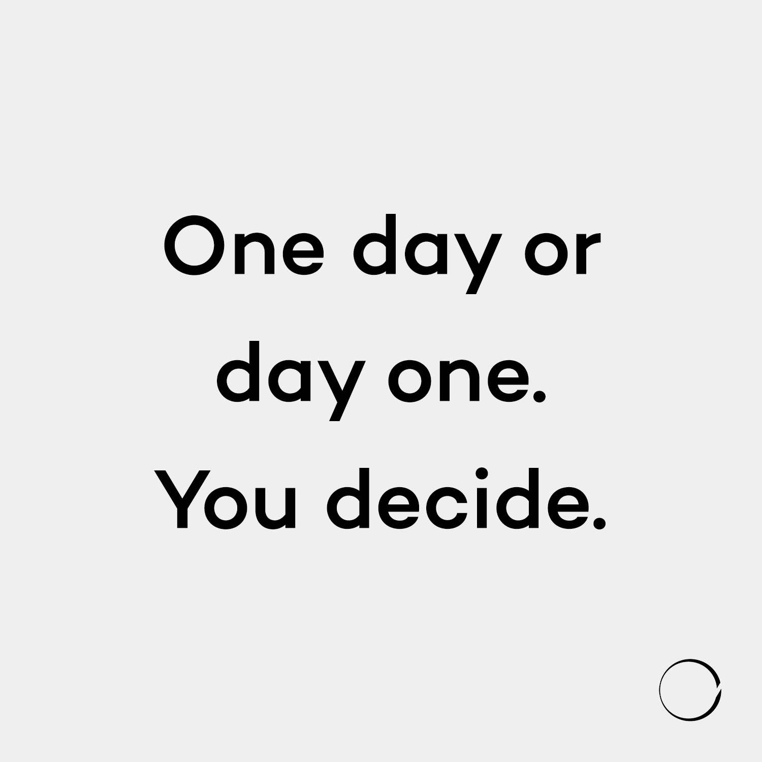day decide approach live simple - minimalismlife | ello