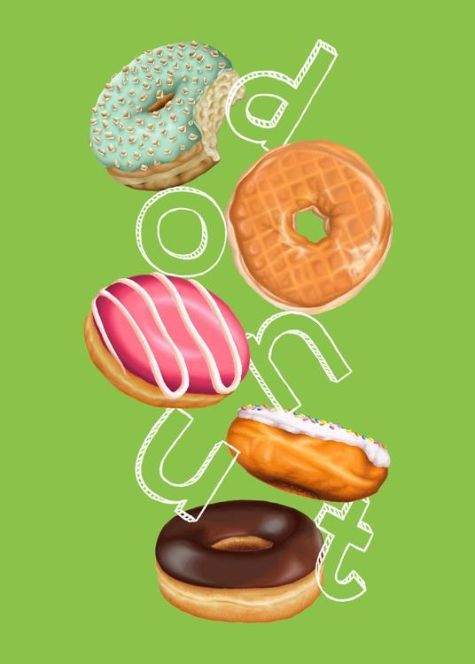 promotional peg donut pattern.  - cloudybazookas | ello
