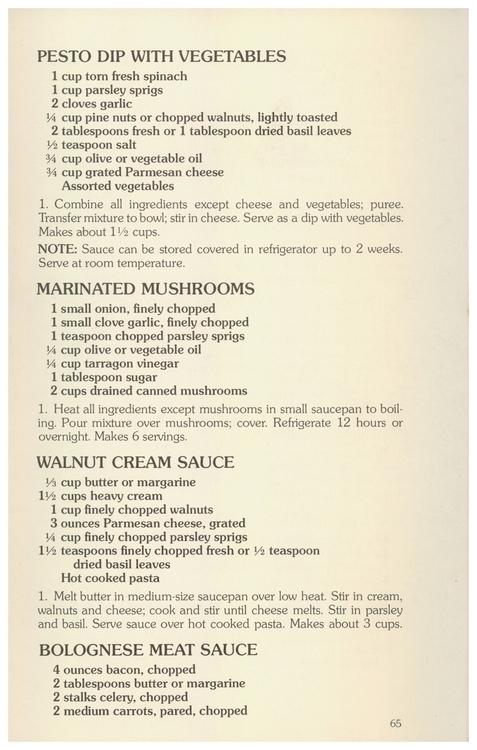 Pesto Dip Vegetables, Marinated - eudaemonius | ello