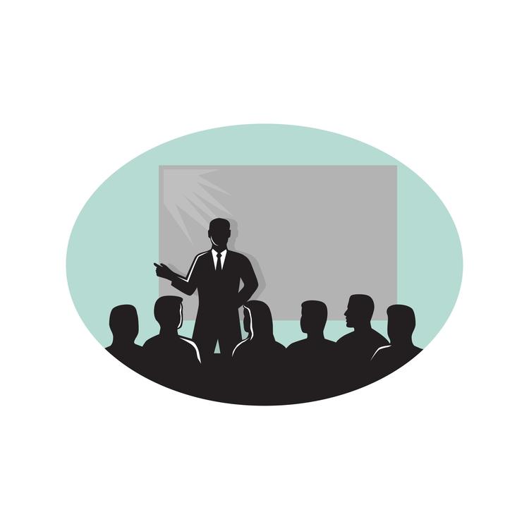 Speaker Audience Projector Scre - patrimonio | ello