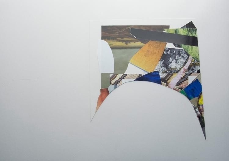 hill horizon, Collage art abstr - wrjenkinson | ello