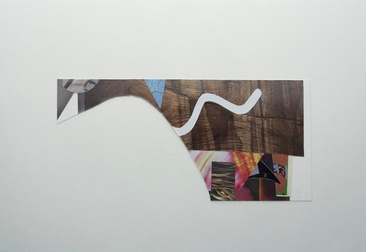 Writing cave wall, Collage art  - wrjenkinson | ello