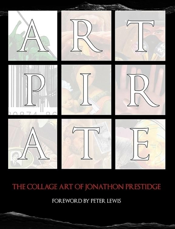 front cover book collage art -  - artpirate   ello