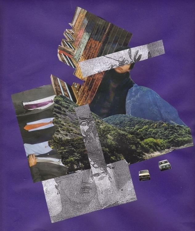 collage handmade - lacaradenadie   ello