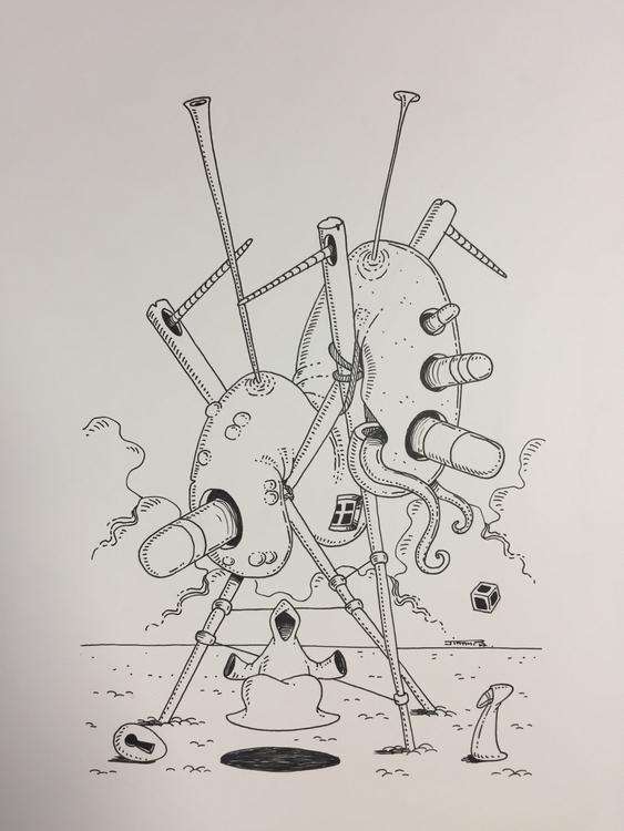 Zen illustration drawing art su - jimmy-draws | ello