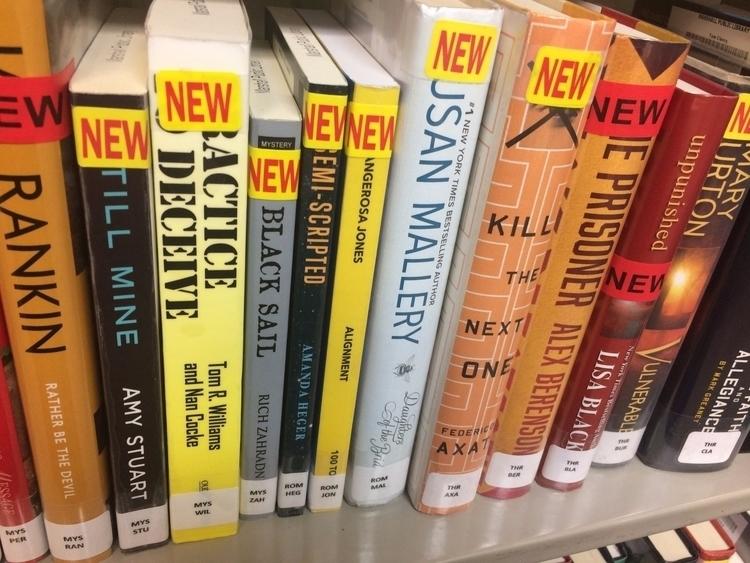Finding shelf Library. Totally  - dangerosajones | ello