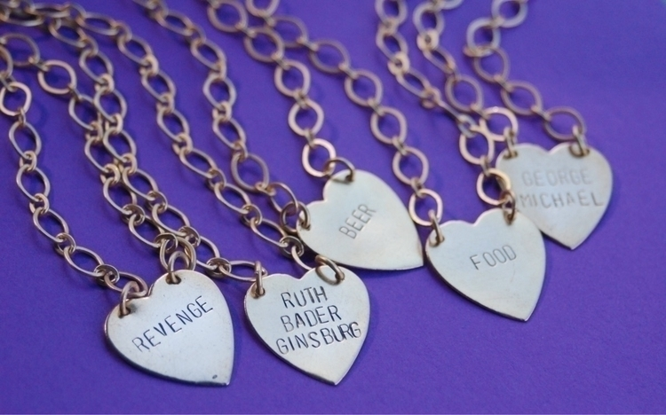 win custom 💖 necklace? Instagra - bangupbetty | ello