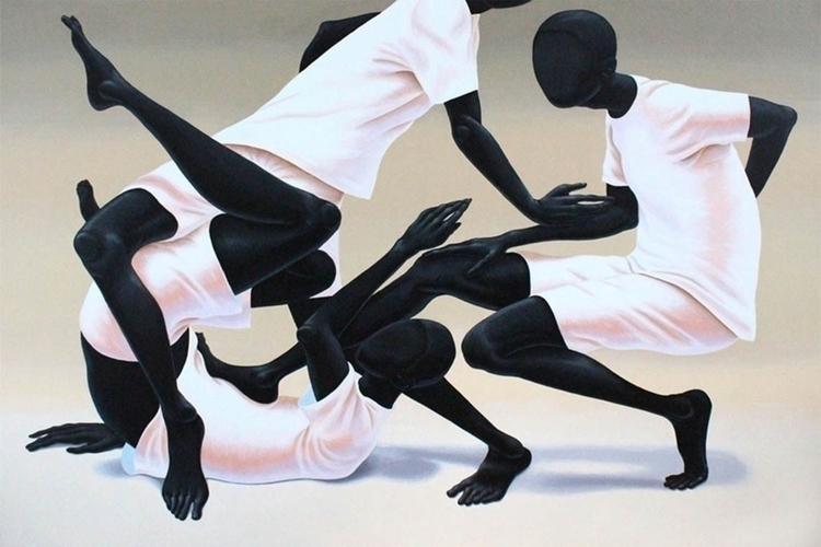 Alex Gardner simple, 2015 Acryl - blackartmatters | ello