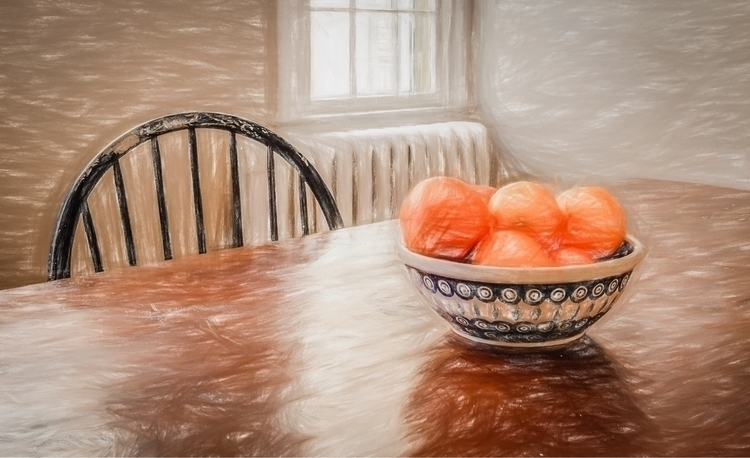 Bowl Oranges stillife orange or - ecajoe | ello