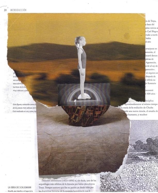 collage handmade analog - lacaradenadie | ello