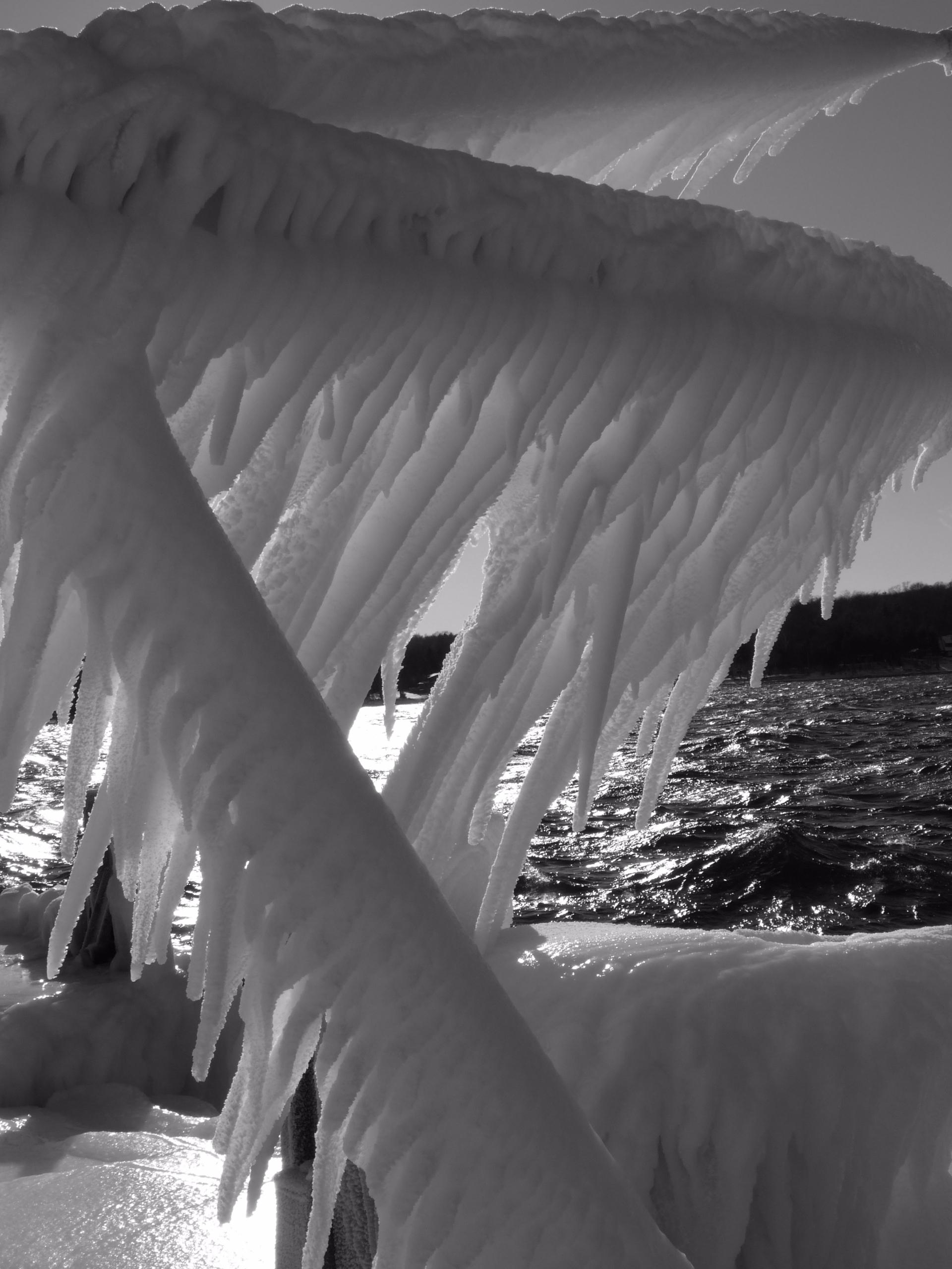 Shroud Winter © Rolf Olson blac - thepoetsdoor | ello
