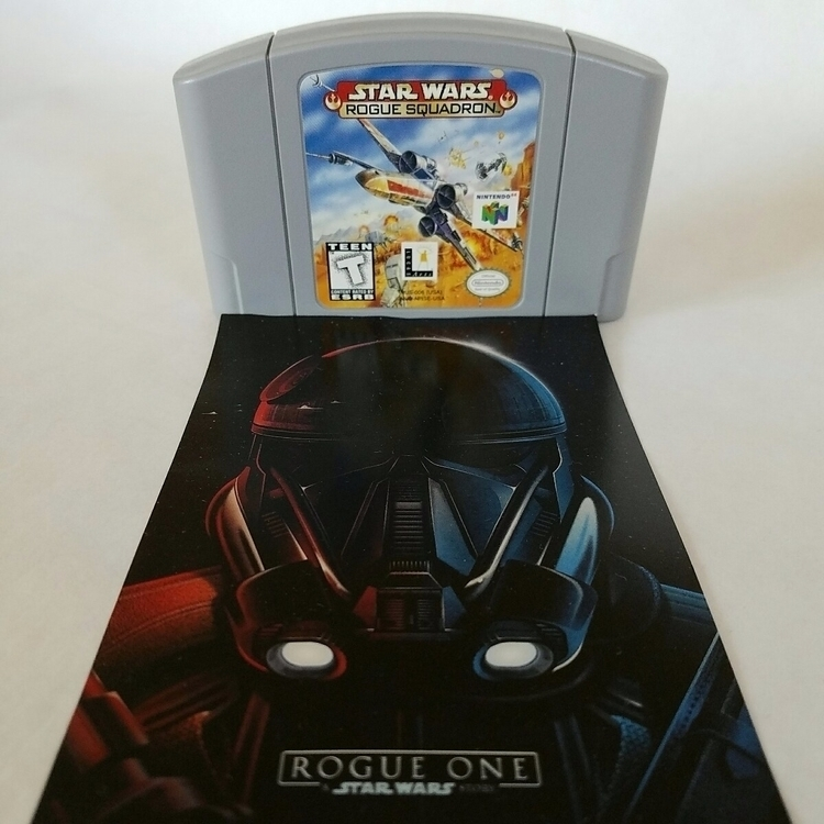 Star Wars Rogue N64 Squadron re - 8bitcentral | ello