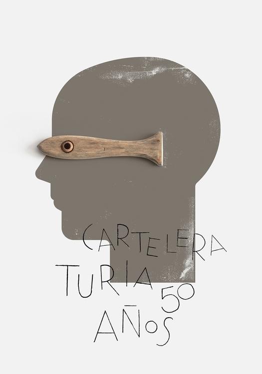 Poster Spanish cultural magazin - ibanramon | ello