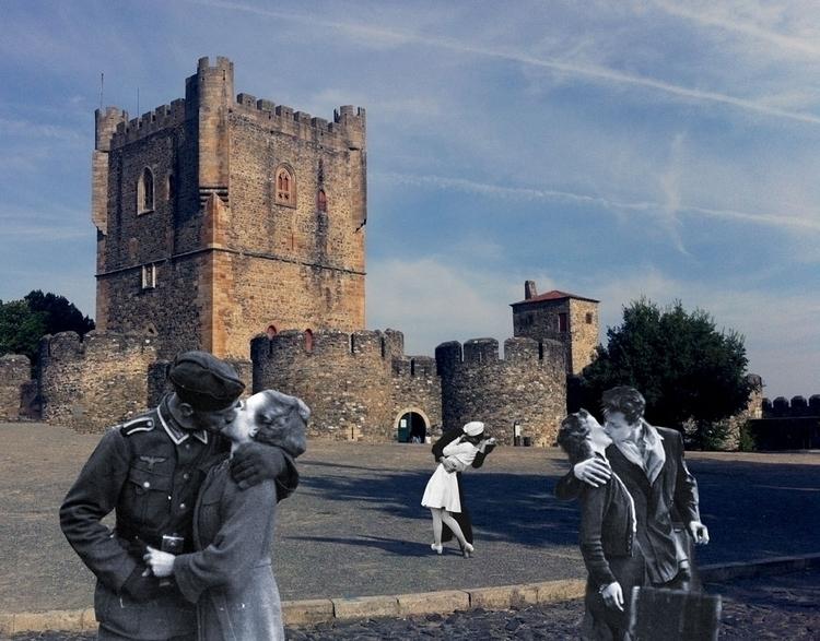 kiss  collage photo portugal - grafismo | ello