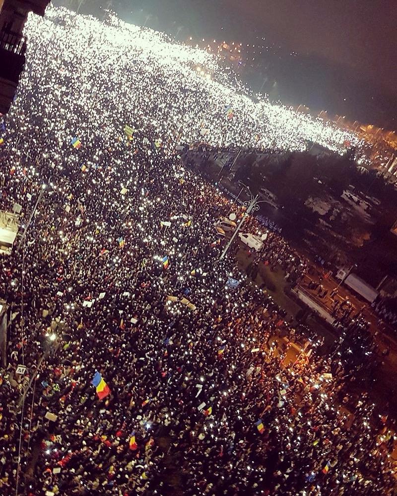 Today streets Bucharest standin - hyperglu   ello