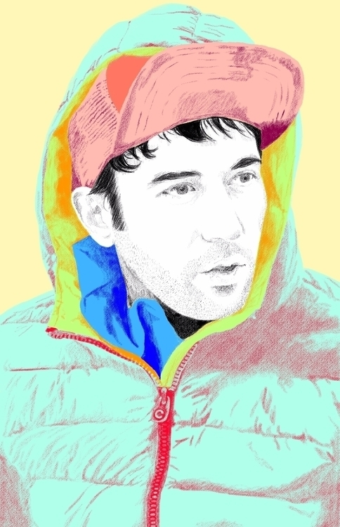 Sufjan Photoshop Design Portrai - jerold | ello