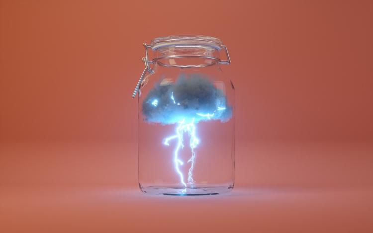 Lightning Bottle. inspiration s - vrtxmotion | ello