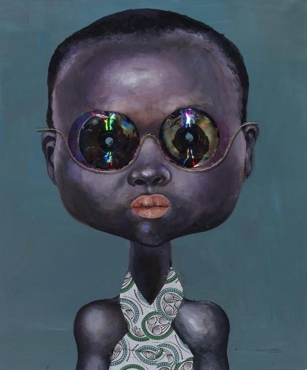 Ndidi Emefiele Rainbow 1, 2015  - blackartmatters | ello