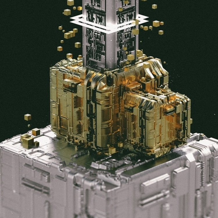GOLDTEKT 3d c4d cinema4d digita - hxg | ello