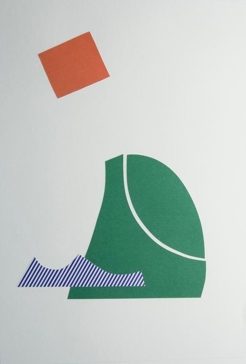 Tennis Bridget, Collage art abs - wrjenkinson | ello