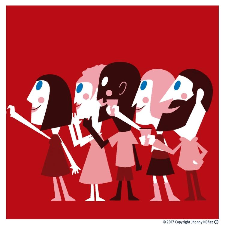 party! :) JhonnyNunez illustrat - dblackhand | ello