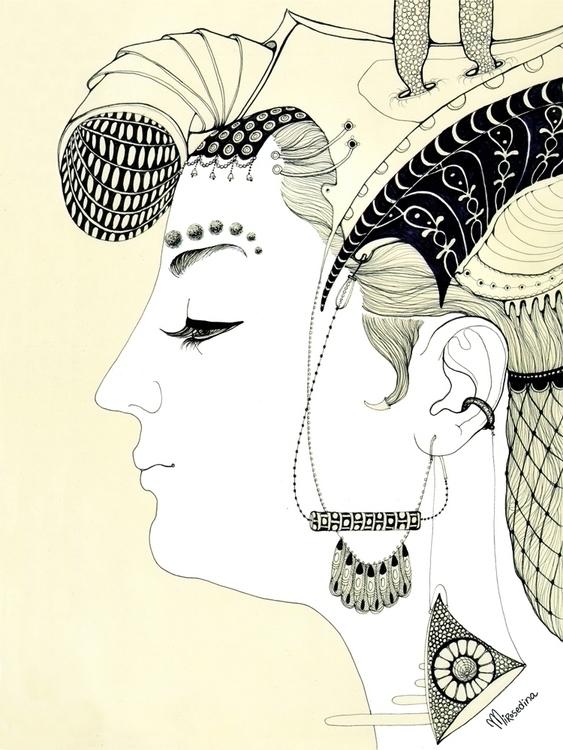 headdress* graphic mirosedina c - mirosedina | ello