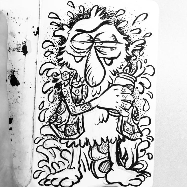 🍄🍄🍄✨ weirdo ink beer - royallyeric   ello