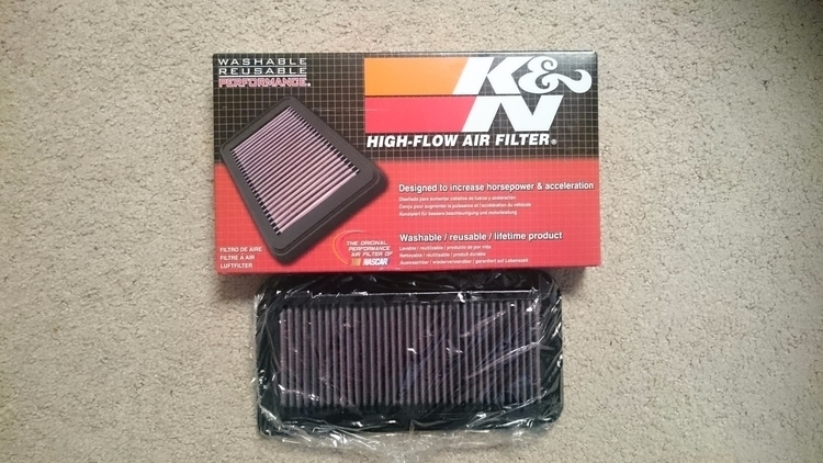 Changed stock air filter (33-23 - itsachu | ello