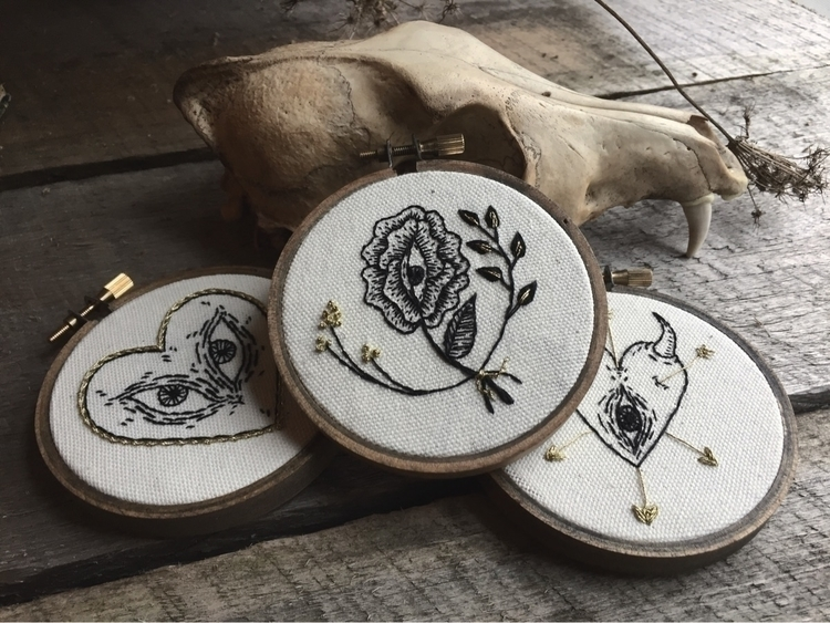 small embroideries included sho - spookyghoul | ello