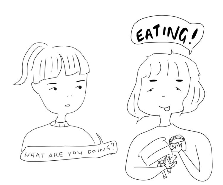 real quick doodle! - sadmix   ello