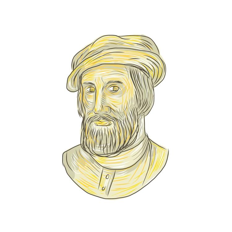 Hernan Cortes de Monroy Drawing - patrimonio | ello