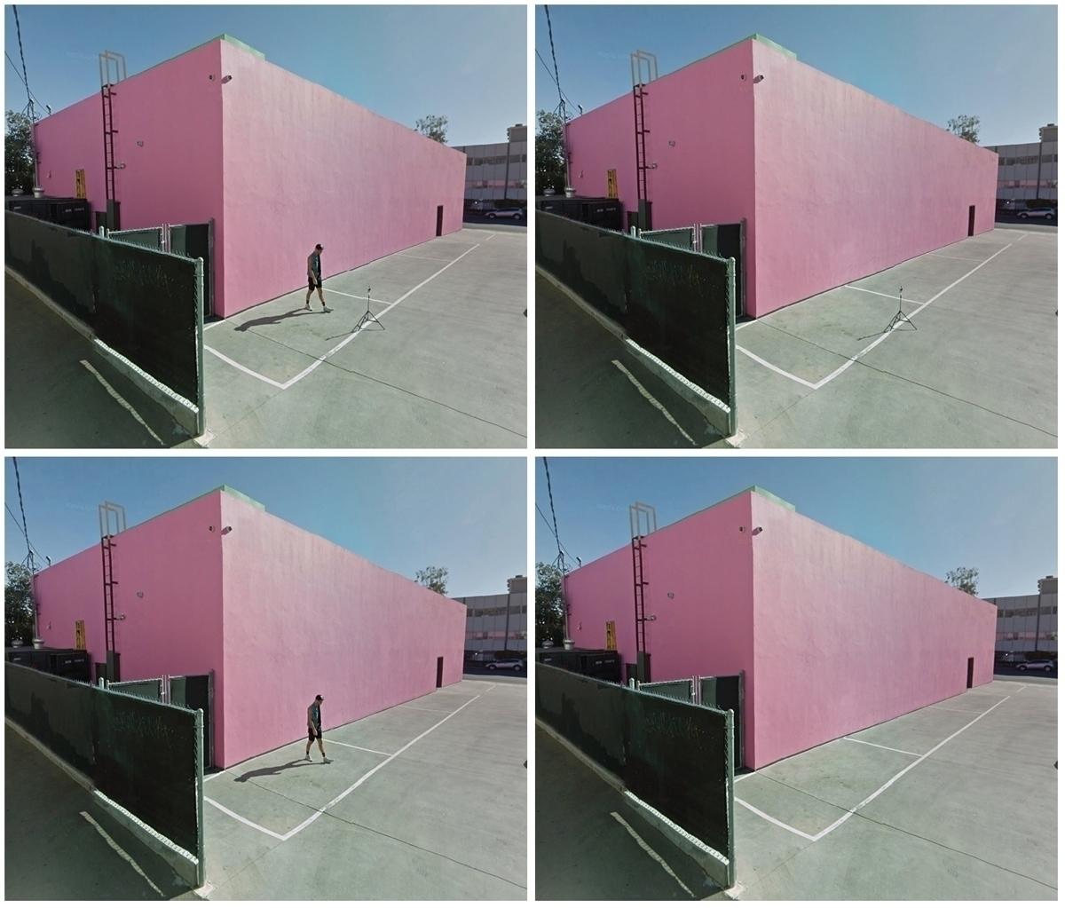 Melrose Pink Wall. photography  - dispel | ello