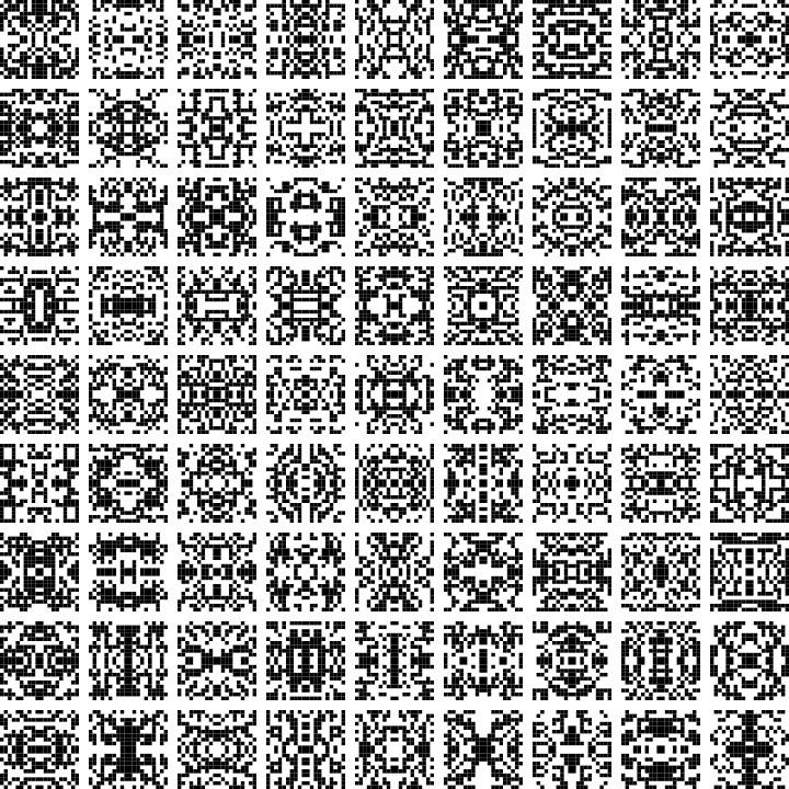 generative tiles inspired Lissa - dorian_gray | ello